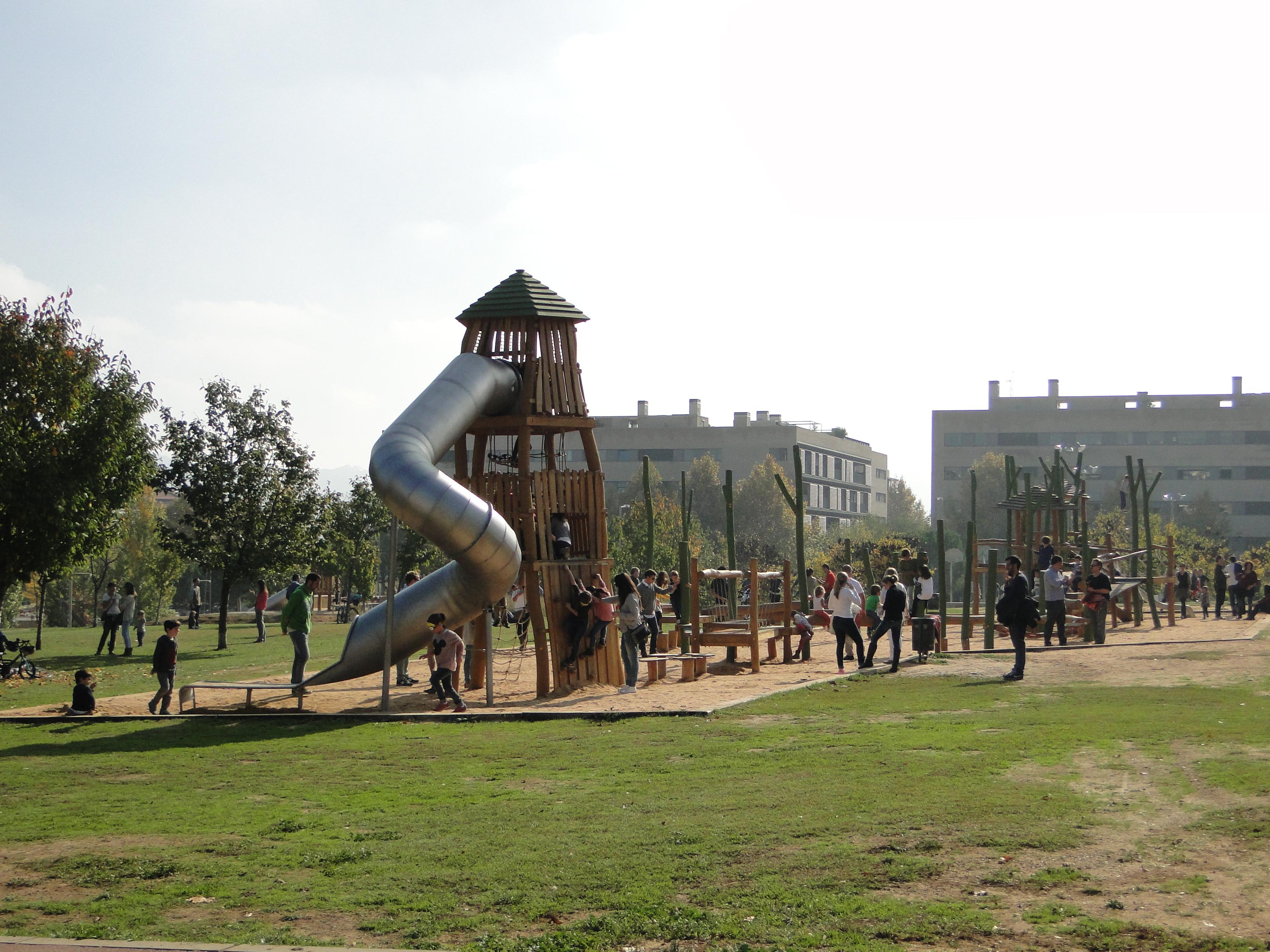 Explorando actividades gratis con ni os en barcelona for Parques ninos barcelona