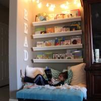 7 ideas para un rincón de lectura infantil