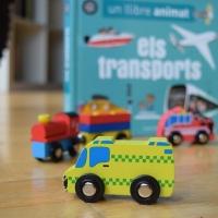 Hoy leemos Un libro animado: Los transportes. Por tierra, mar y aire