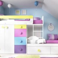 Ideas para habitación infantil compartida por mellizos niño y niña